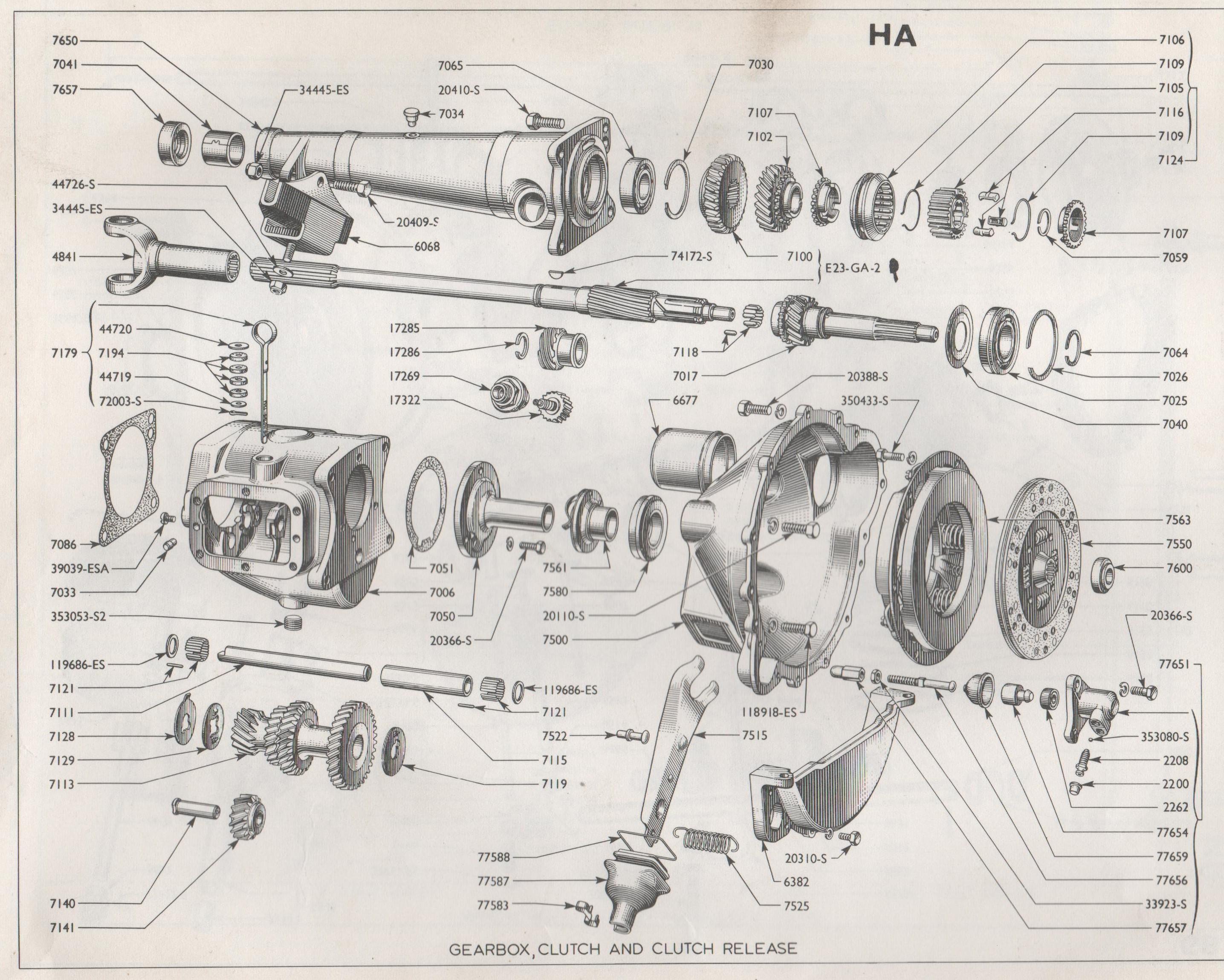 543 Gearbox Clutch Consul Zephyr Zodiac 1951 To 1956 Mk1