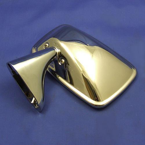 classic type door mount rear view mirror - left hand side