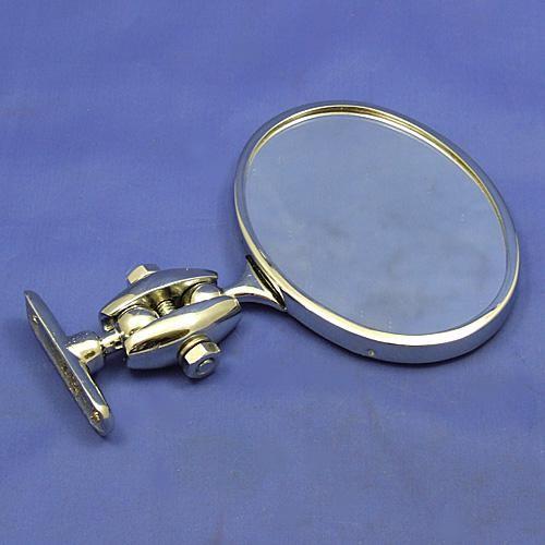 Desmo oval rear view mirror - Desmo oval rear view mirror - nickel
