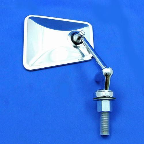 swing back mirror - tapered head with adjustable arm