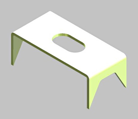 panel clip retaining plate