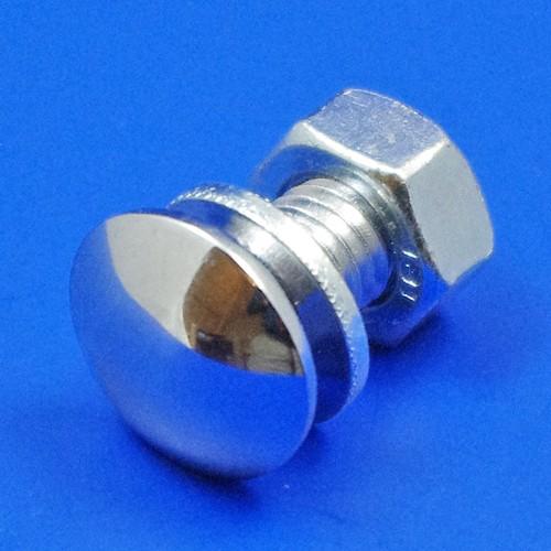 bumper bolt - flat head