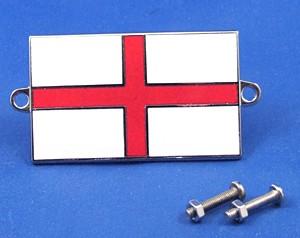 enamel nationality flag badge / plaque England