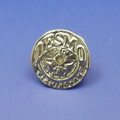 Desmo lamp badge medallion
