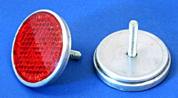 reflector with rear stud - reflector with rear stud