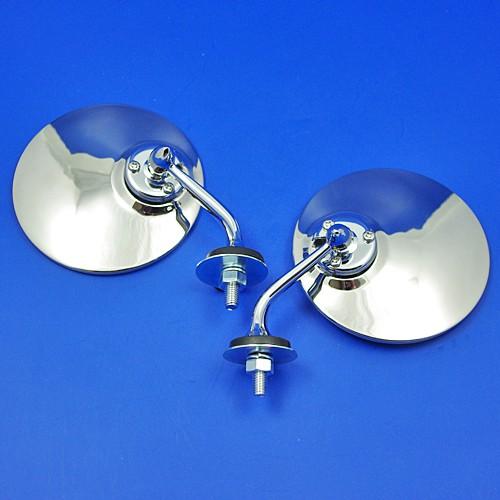 rear view mirror - convex glass pair