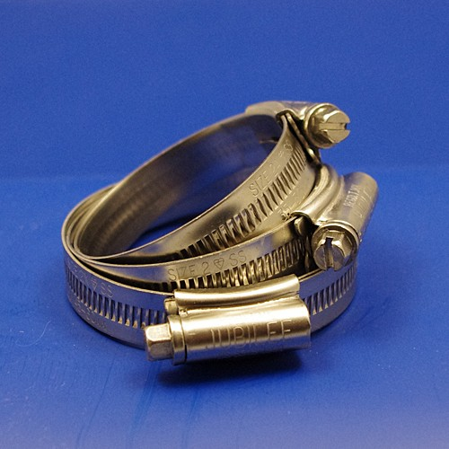 Jubilee hose clip / hose clamp - size 1