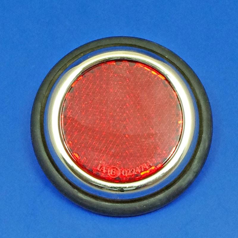 reflector with rim - Nickel