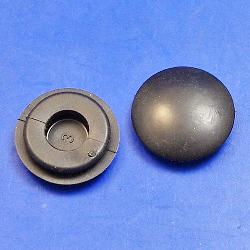 blanking grommet no hole - 12mm panel hole - 50 pieces