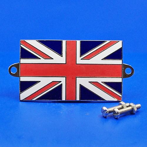 enamel nationality flag badge / plaque United Kingdom