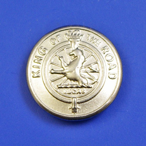 Lamp style badge medallion - size B badge (fits into 14.7mm hole)