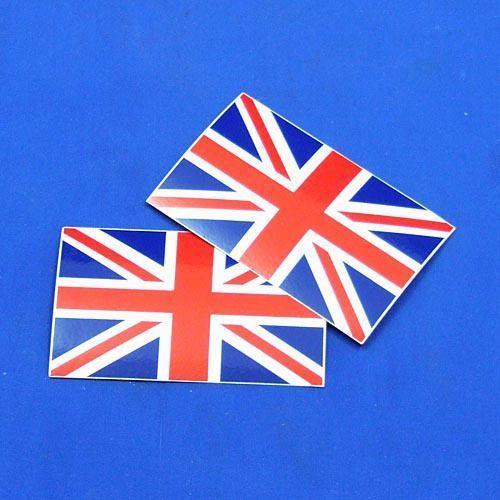 Union Jack vinyl badge