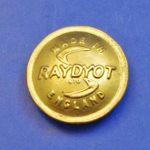 Raydot brass lamp badge medallion