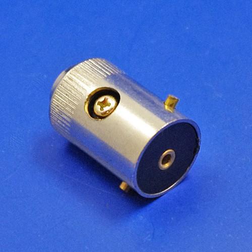 bulb holder plug - single contact