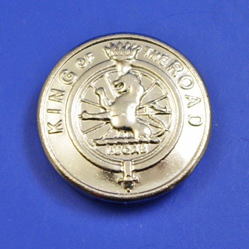 Lamp style badge medallion - size D badge (fits into 20.5mm hole)