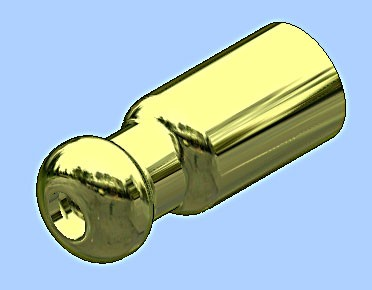 electrical terminal bullet end