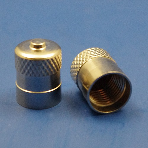 tyre valve cap - plain top