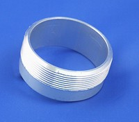 filler cap adapter neck - aluminium