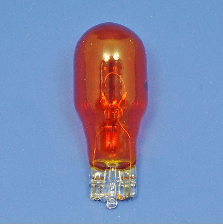 Auto bulb - B921 Amber 6 Volt