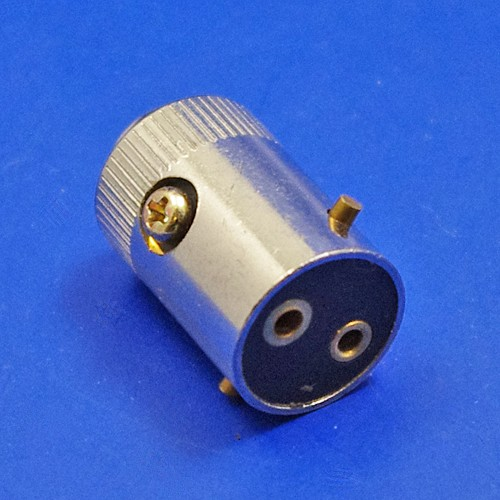 bulb holder plug - double contact
