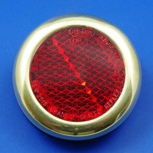 reflector - brass rim