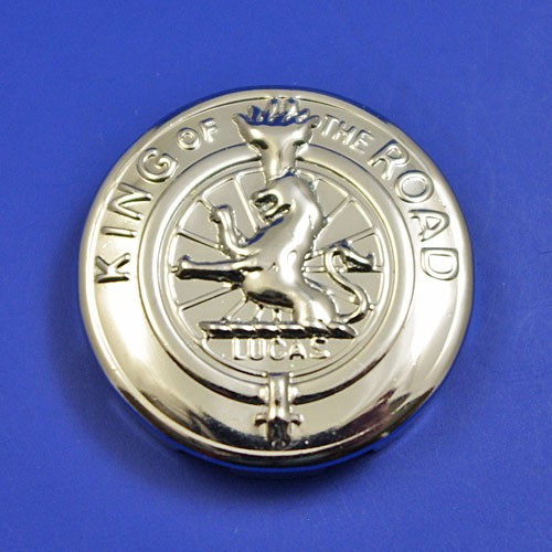 Lamp style badge medallion - size E badge (fits into 27.8mm hole)