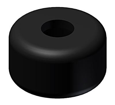 rubber buffer & cap stop