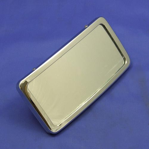 rear view mirror  - self colour polished brass