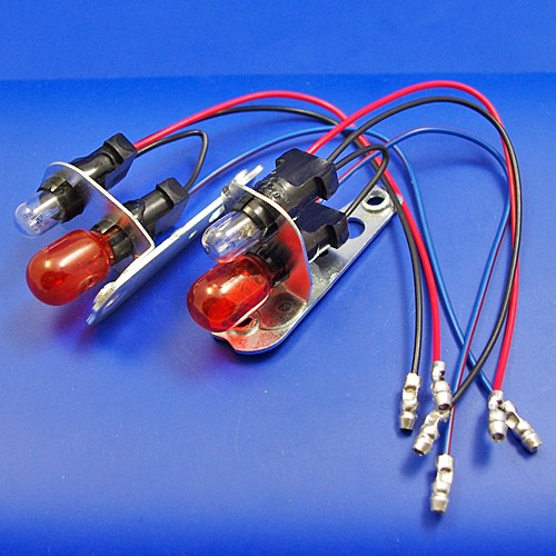 1130 sidelamp bulbholder (twin bulb) Amber and Clear