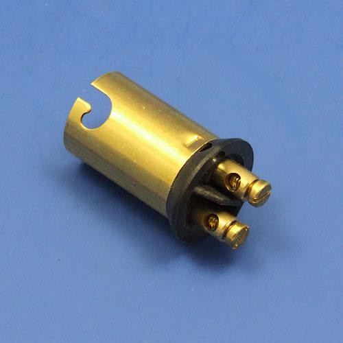 bulbholder  - double contact offset pin